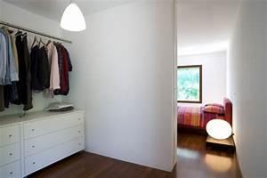Schlafzimmer Mit Begehbarem Kleiderschrank : offene wohnung wohnk che schlafzimmer und bad ohne w nde ~ Sanjose-hotels-ca.com Haus und Dekorationen