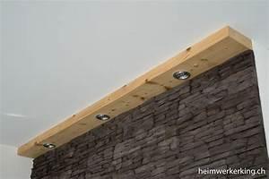 Kabel An Wand Befestigen : tv wand mit steinverblender ohne sichtbare kabel bauen ~ Michelbontemps.com Haus und Dekorationen