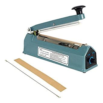 amazoncom  hand impulse sealer heat seal machine poly sealing plastic bag element kit