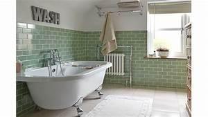 beautiful carrelage salle de bain vert deau gallery home With faience salle de bain vert