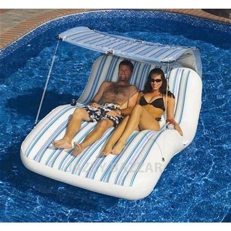 solstice luxury cabana lounge pool floating