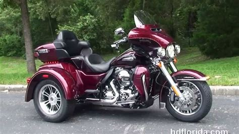 2014 Harley Davidson Three Wheeler Motorcycle Trike For