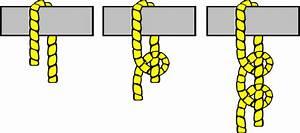 Knot Illustration  2 Half Hitches  Clip Art At Clker Com