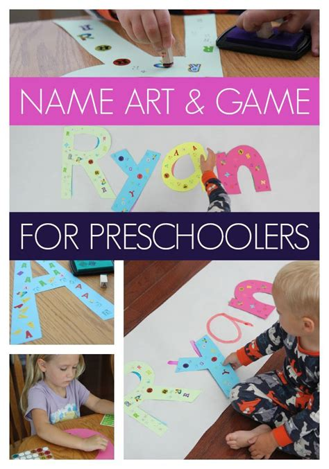 17 best images about name activities and crafts on 977 | 7ec2b4c124bcccf6145bccec8e7c730f