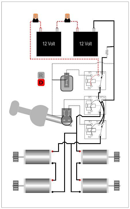 Modified Power Wheels New Relays