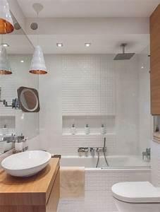 Dekoration Gäste Wc : kleines bad einrichten 51 ideen f r gestaltung mit dusche bad ideen bathroom shelves ~ Buech-reservation.com Haus und Dekorationen