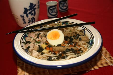recette cuisine japonaise recette japonaise soupe au ramen à ma façon