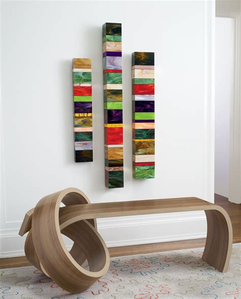 knot bench  kino guerin wood bench artful home