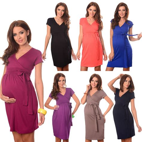 maternity cocktail dress  neck pregnancy clothing wear