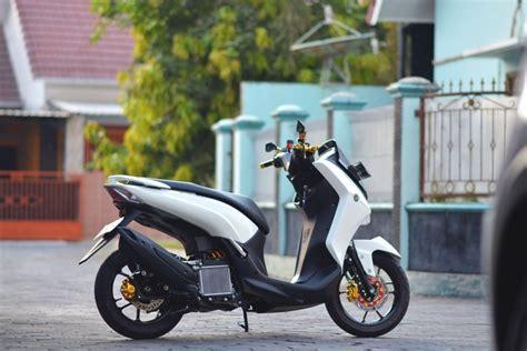 Modif Mx Cakram Belakang by Modifikasi Yamaha Buat Emak Belanja Ke Pasar