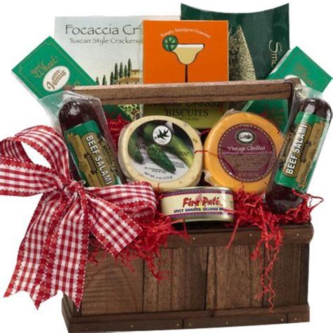 meat and cheese gift basket of appreciation gift baskets meat and cheese