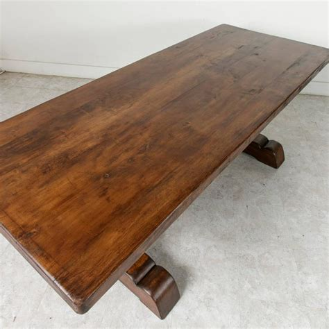 30407 alder wood furniture excellent farm table dining table with trestle made of alder