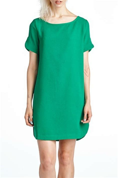 sleeve wedding guest dresses mittoshop green shift dress from kentucky by cocabelle boutique shoptiques