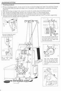 Juki Mo 104 N Sewing Machine Threading Diagram