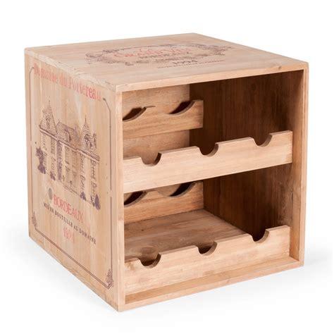 casier bouteille cuisine range bouteilles h 27 cm portereau maisons du monde