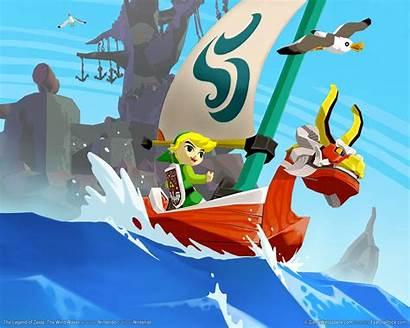 Waker Zelda Wind Legend Gamecube Link Windwaker