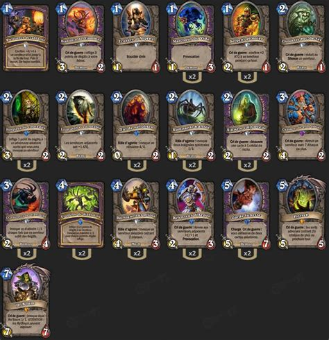 Zoo Warlock Deck Hearthstone by Deck D 233 Moniste Zoo Loe Milithium Hearthstone Heroes Of