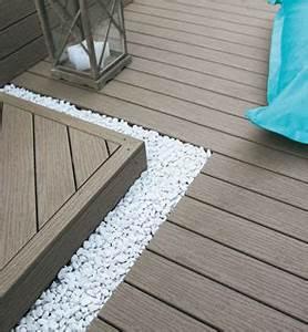 Lame De Terrasse Composite Longueur 4m : la terrasse en bois ~ Melissatoandfro.com Idées de Décoration