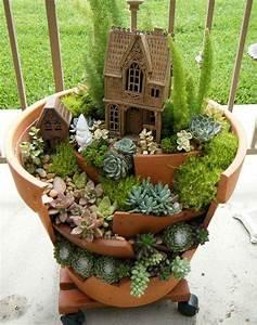 Creation Avec Des Pots De Fleurs : cassez vos pots de fleurs pour avoir une d co digne d un ~ Melissatoandfro.com Idées de Décoration
