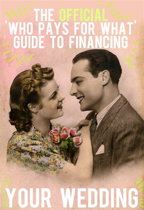 who pays for the wedding the official who pays for what guide to financing your wedding and then we saved