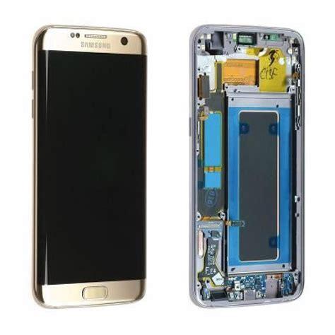 ecran lcd avec vitre tactile pour samsung g935 galaxy s7 edge or original service pack gh97 18533c