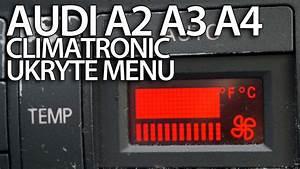 Ukryte Menu Serwisowe Audi Climatronic A2 A3 8l A4 B5