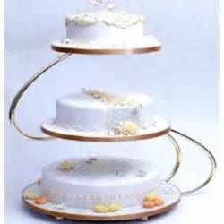 50th anniversary plate pme s shape 3 tier gold wedding cake stand pme from cake