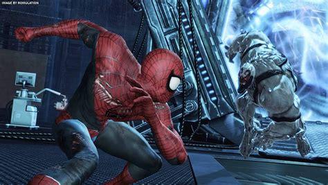 spider man edge  time usa nintendo wii iso