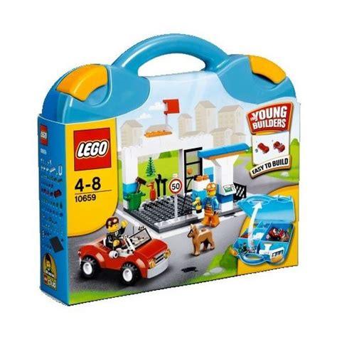 lego 3 ans lego juniors 10659 valise construction gar 231 on achat vente assemblage construction cdiscount