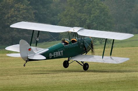 incident de havilland dh tiger moth  ebkt  sep