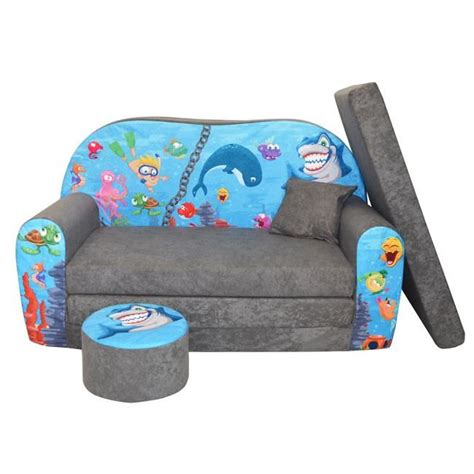 canapé pour enfants lit enfant fauteuils canapé sofa pouf et coussin l 39 océan