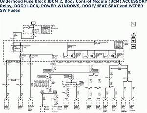 2000 Pontiac Fuse Box Diagram
