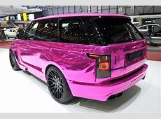 Hamann builds the Range Rover of Barbie's methfilled