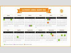 Calendario Laboral Madrid 2018 Suárez y Rodríguez Asesores