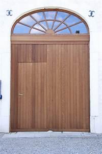 Porte De Garage Bois : porte de garage en bois menuiserie dasnois ~ Melissatoandfro.com Idées de Décoration