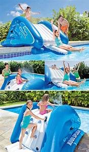 toboggan gonflable pour piscine enterree With toboggan gonflable pour piscine enterree