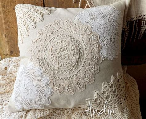 Len Shabby Style by 28 Best Decorative Lace Crochet Pillows Images On