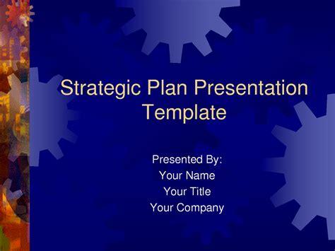 Powerpoint Strategic Plan Template