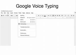 tech tip thursday 34 smore newsletters With google docs voice typing android