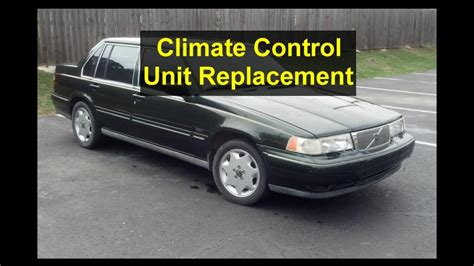 climate control unit replacement volvo