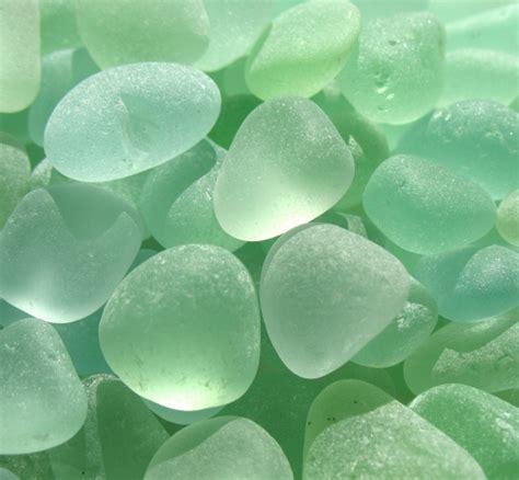 Seafoam Green  West Coast Sea Glass