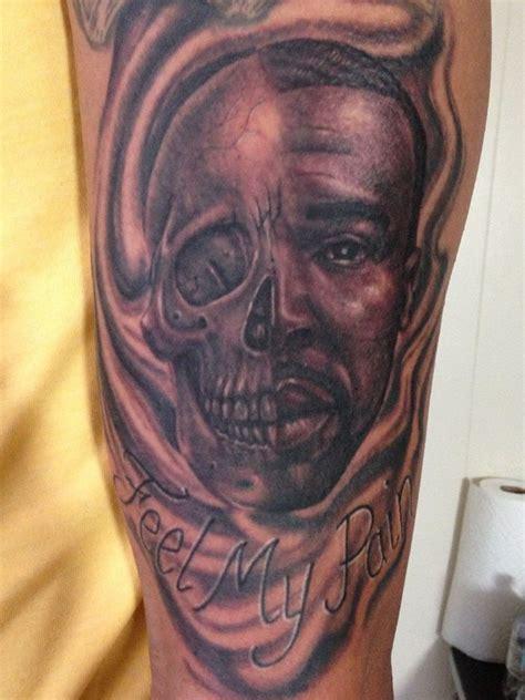 black ink griffin tattoo  man left  sleeve