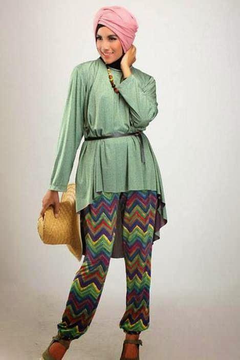 kumpulan desain baju muslim remaja sehari hari kumpulan