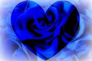 Blue Roses and Hearts