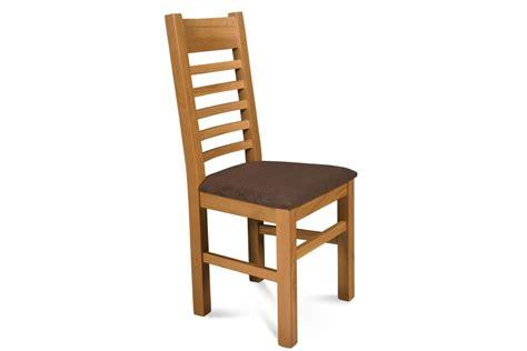 chaise en chene chaise en chêne clair et assise tissu hellin