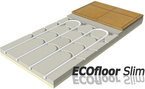 riscaldamento a pavimento parquet pannello radiante a pavimento in gessofibra ecofloor slim