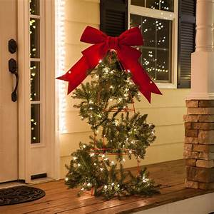 Diy Stakes For Christmas Lights Christmas Porch Decorations