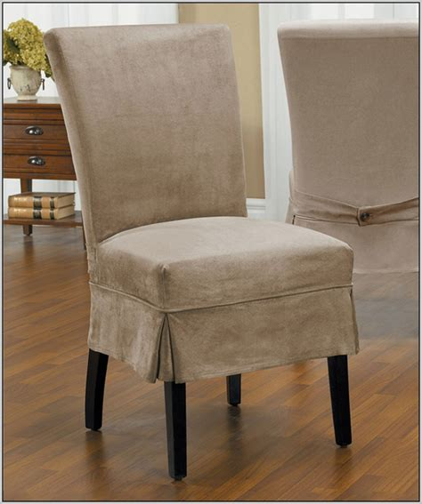 Modern Chair Slipcovers Linen Dining Chair Covers Decoration Aomuarangdong Com