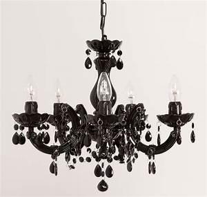 Lustre Salon Pas Cher : lustre baroque noir lustre salon design pas cher studioneo ~ Teatrodelosmanantiales.com Idées de Décoration