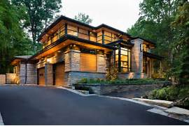 Luxury Modern American House Exterior Design Modern Day House Aiming At Converting Traditionalists By David Modest